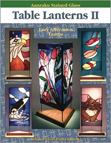 Aanraku Table Lanterns Stained Glass Pattern Book Volume 2.