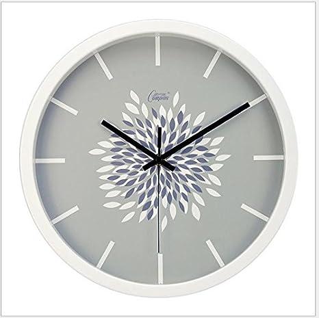 weian los Restos y moderno creativo IKEA Salón Dormitorio Relojes de pastoralen pared Reloj Mute: Amazon.es: Hogar