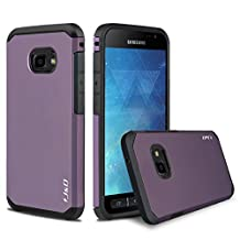 Galaxy Xcover 4 Case, J&D [ArmorBox] [Dual Layer] Hybrid Shock Proof Protective Rugged Case for Samsung Galaxy Xcover 4 - Purple