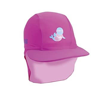 0f5322fe179 Zoggs Girls Hat with Sun Protection UPF50+ from Harmful Rays - Pink ...