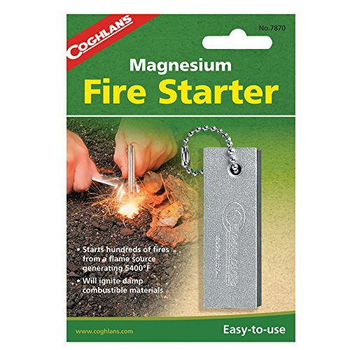 Basket Starter Fire (Coghlan's Magnesium Fire Starter)