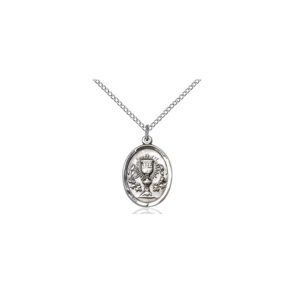 DiamondJewelryNY Sterling Silver Chalice Pendant