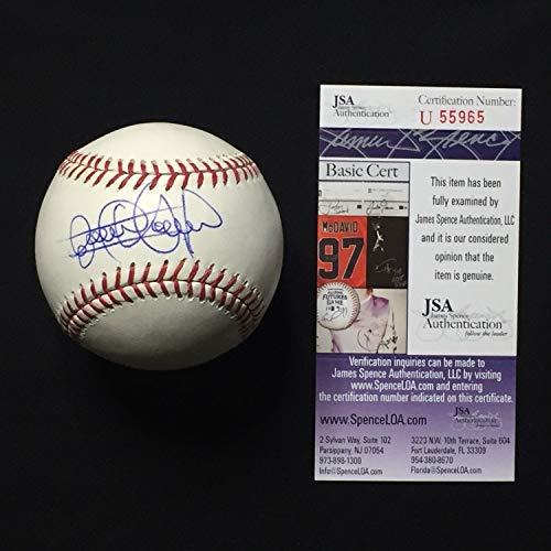 Elvis Andrus Autographed Signed Rawlings MLB Baseball JSA Coa
