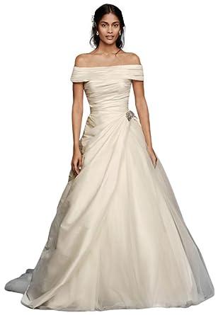 Jewel taffeta wedding dress with brooch style wg3796 ivory 6 at jewel taffeta wedding dress with brooch style wg3796 ivory 6 junglespirit Gallery