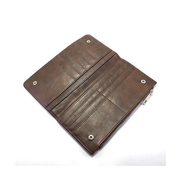 Dkora-T - Billetero personalizado con fotos piel marrón 4