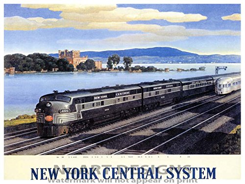 new york central system poster - 3
