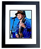 Niall Horan Signed - Autographed 1D One Direction Singer 11x14 inch Photo BLACK CUSTOM FRAME - Guaranteed to pass PSA or JSA
