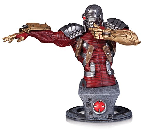 DC Collectibles Comics Super-Villains: Deadshot Bust Statue