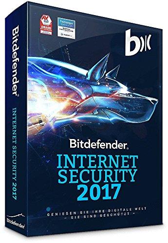 Bitdefender Internet Security 2017 – 3 PC | 1 Jahr (Windows) - Aktivierungscode (bumps)