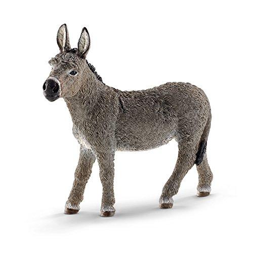 - Schleich Donkey Figurine Toy Figure