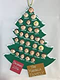 Personalized Christmas Tree Ornament – Large Tree Up to 30 Faces For Sale