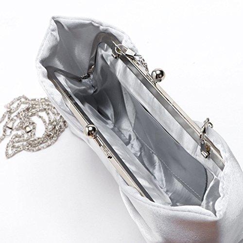 silver femme TOOKY Pochette TOOKY pour Pochette 4wqYfa6P4
