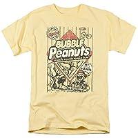 Trevco Men's Dubble Bubble Short Sleeve T-Shirt, Banana, Medium