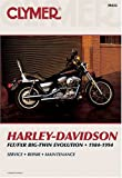 Harley-Davidson FLT/FXR Big Twin Evolution, 1984-1994, Clymer Publications Staff, 0892876336