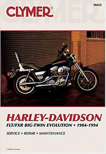 clymer harley-davidson flt/fxr big-twin evolution, 1984-1994 (clymer  motorcycle repair): randy stephens: 9780892876334: amazon com: books