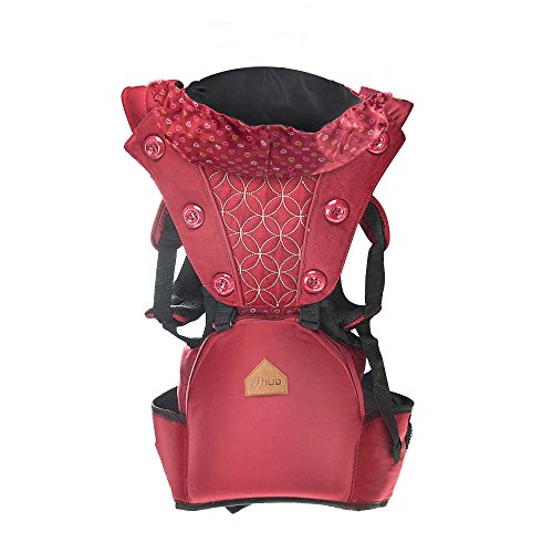 Winkeyes All Seasons Breathable Baby Carrier, 10 in 1 360 Ergonomic Mesh Baby Carrier with Convertible Hip Seat Front and Back for Infants Babies Toddlers For Sale