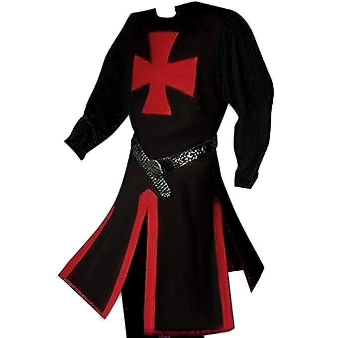 Vlago Disfraz de Cruzado Medieval para Hombre Templar Knight ...