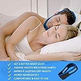 Stayoung Anti ronquidos Dispositivos, Anti ronquidos SIDA Barbilla Correa Cinturón ronquidos mandíbula Apoyo de apnea (1)