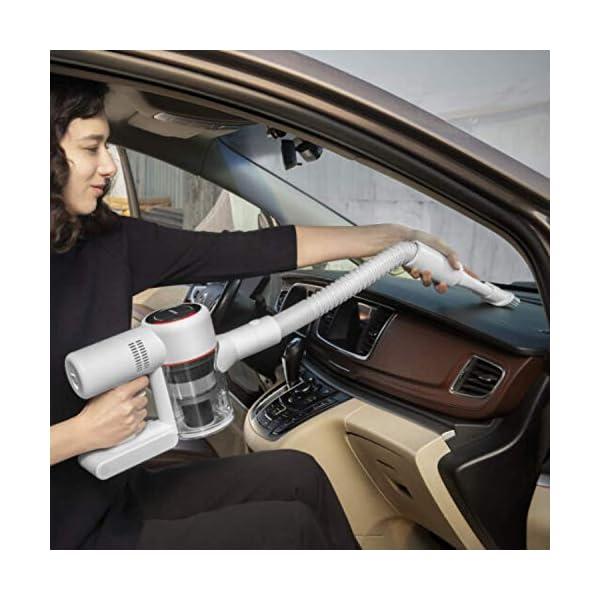 Dreame V10 Mistral Plus – Aspirapolvere Senza Fili, Modello Europeo, 100.000 Giri, 450W, 60 Minuti, 150AW, Bianco 6 spesavip