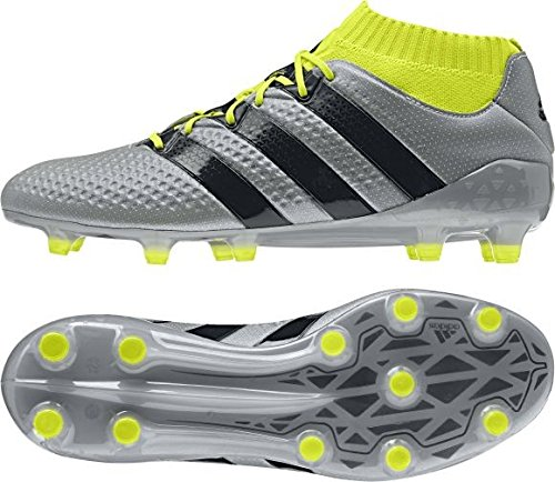 Botas fútbol Adidas Primeknit para Ace FG Amasol Plateado Plamet Negbas de Hombre 1 16 XWww1qafg