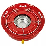 Ezyoutdoor Alcohol Burner Spirit Alcohol Stove for Backpacking Camping Hiking Bivouac Hunting Outdoor Sports or Use With Solo Stove