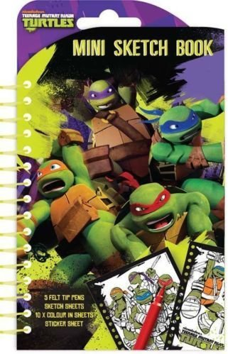 Amazon.com: teenage mutant ninja turtles Mini libro de ...