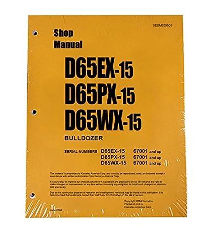Amazon com: Komatsu D65EX-15, D65PX-15, D65WX-15 Bulldozer
