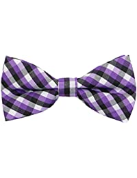 Handmade Boy's Plaid Bow Ties