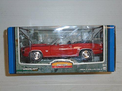 Green light Muscle Car Garage 1:24 scale Chevrolette Camaro die cast model