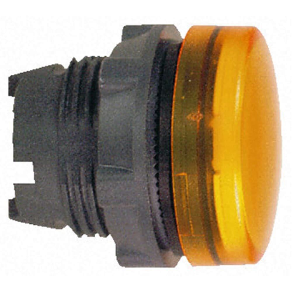 XB5 Series; Orange Pilot Light Head; 22mm Cutout - Pack of 5