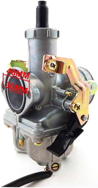 stoneder 30/mm Carb PZ30/Motor Pumpe Vergaser f/ür 200/cc 250/cc Pit Dirt Motor Bike Motorrad ATV Quad 4/Wheeler
