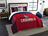 The Northwest Company MLB St. Louis Cardinals King Comforter and Shams Set