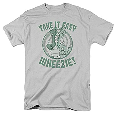 Other Cartoons Dragon Tales Animated PBS Series Take It Easy Wheezie! Twins Adult T-Shirt Tee