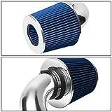 DNA MOTORING ITK-0075-BL Blue Air Intake+Filter