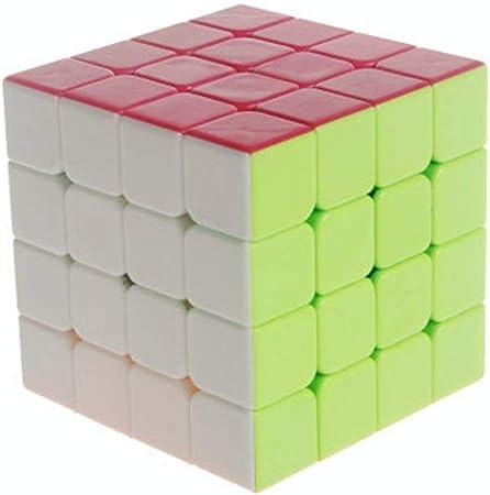 CADELON Velocidad Paquete, Cubo Mágico Puzzle Pack,4 * 4: Amazon ...