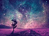 QuanCheng Space Star Tapestry,Outer Universe Galaxy Planet Milky Way with Tree of Life Decor Tapestries Wall Hanging for Bedroom Living Room Dorm.Multi 78x59Inch