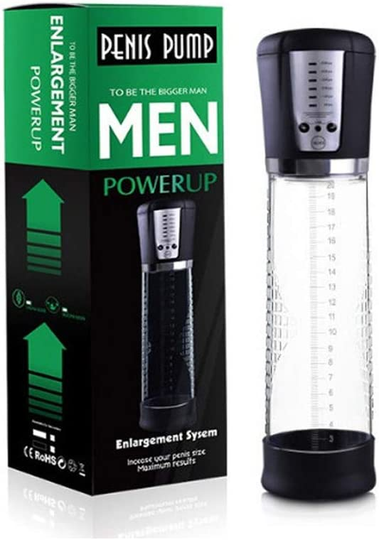 Vacuum Pump Vacuum Device, 5 Different Intensity Pressures, Changing Via USB