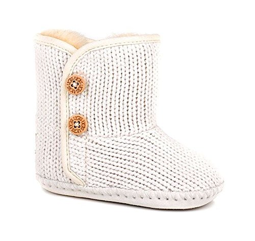 UGG Australia Girls Infant Purl Boot Ivory Size 4/5