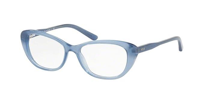 Ralph Lauren POLO 0PP8530 Monturas de gafas, Blue, 46 para Mujer ...