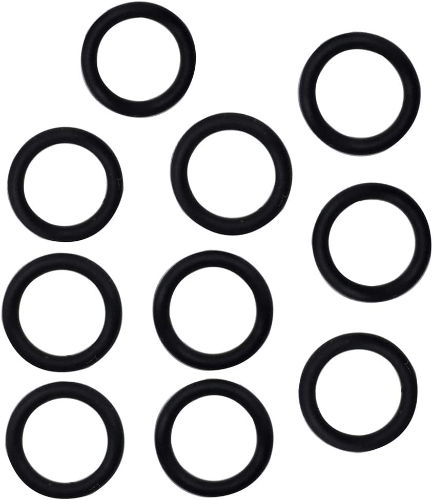 Oil Drain Plug O-Ring #11105 Replacements for Harley Davidson 10 Pack Black