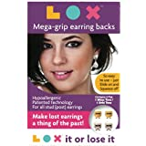 LOXTM Mega-Grip Earring Backs, 2 Pair Pack