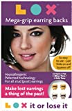 LOX™ Mega-Grip Earring Backs, 2 Pair Pack