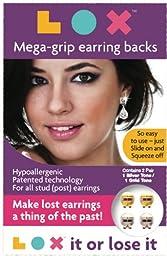 "LOXâ""¢ Mega-Grip Earring Backs, 2 Pair Pack"