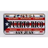 Dimension 9 Home Decorative Plate, Puerto Rico