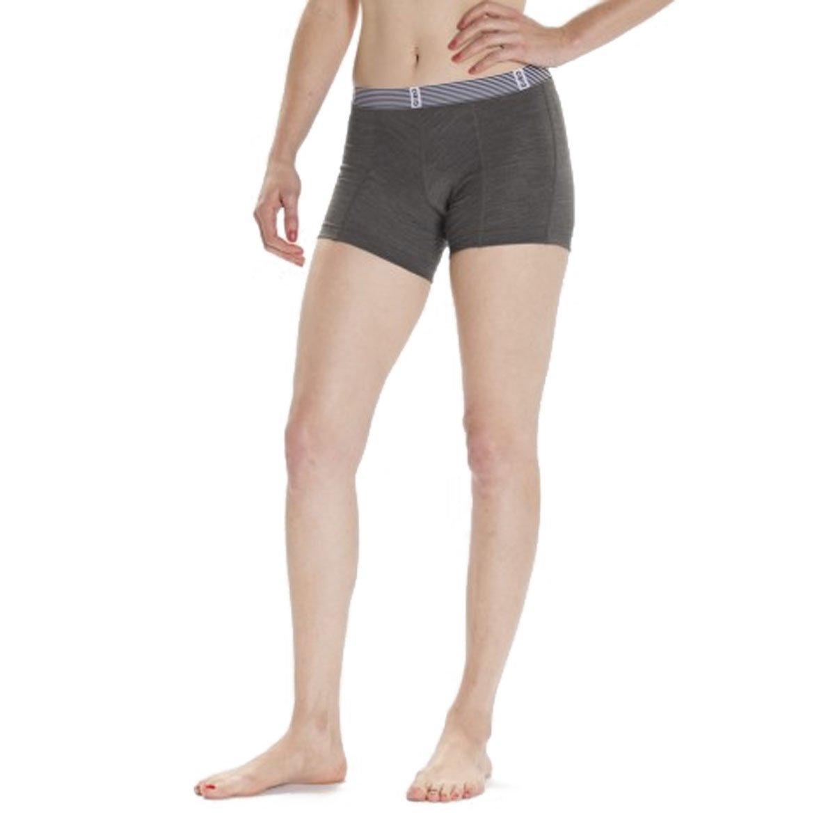 Giro Mtb Girls Shorts Boy - Undershort Dark Shadow (Small , Grau)