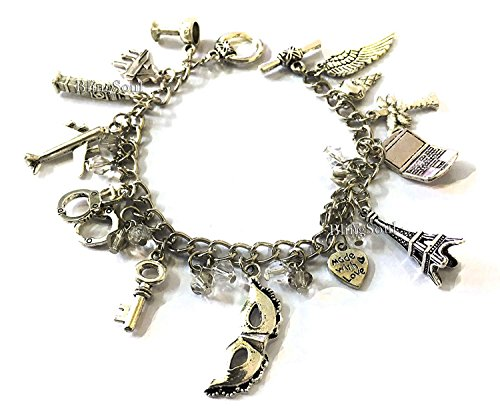 Blingsoul Fifty Shades Darker Charm Bracelet for Her (Fifty Shades Of Grey Official Release Date)