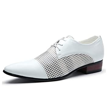 194258fa9c9cd Amazon.com: YaXuan Men's Shoes Leather Spring/Fall Fashion/Pointed ...