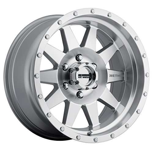 Method Race Wheels The Standard Machined Wheel with Matte Clear Coat (20x9