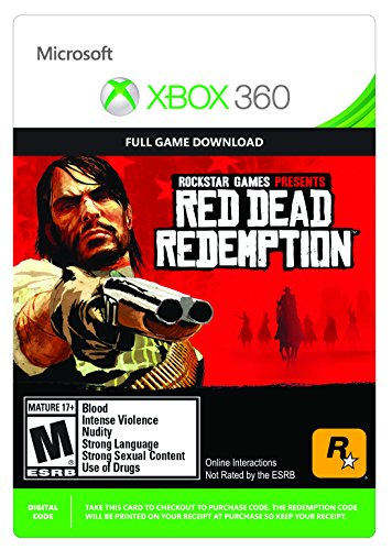 - Red Dead Redemption - Xbox 360 Digital Code