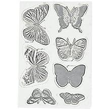 """BoBunny Stamps 4""""X6""""-Flutter"""